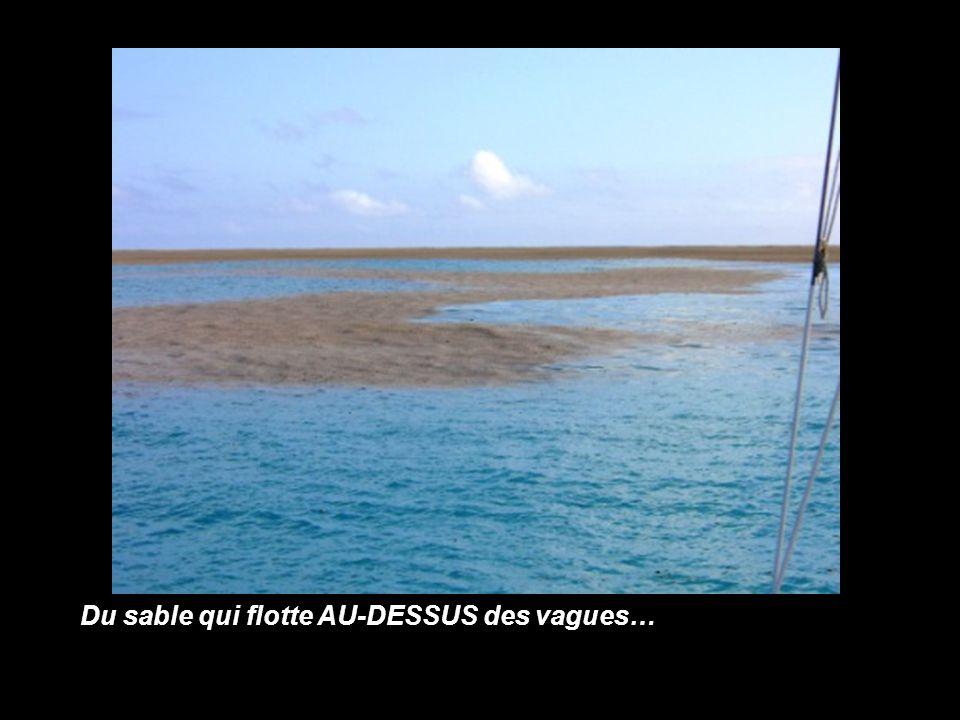 Août 2006 le bateau voyageant dans le sud du Pacifique est témoin d'une chose hallucinante
