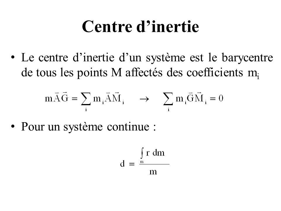 Mécanique classique du solide pour les mouvements vibratoires La masse totale du système est :