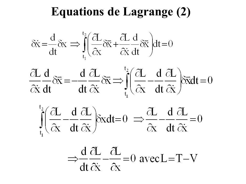 Exemple 2 : Solution (3) Système n° 3 : Système n° 3