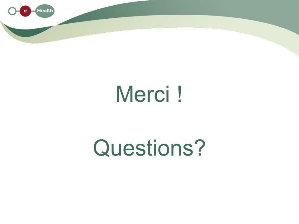 Merci ! Questions?