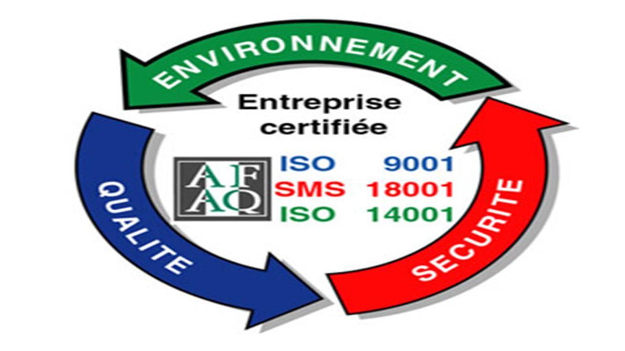 LE SYSTÈME CERTIFIE QSE Il s'agit d'une démarche globale et volontaire qui intègre les trois systèmes de management.