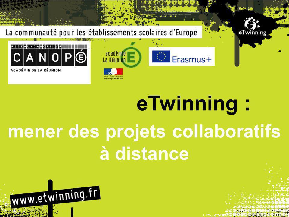 eTwinning : mener des projets collaboratifs à distance
