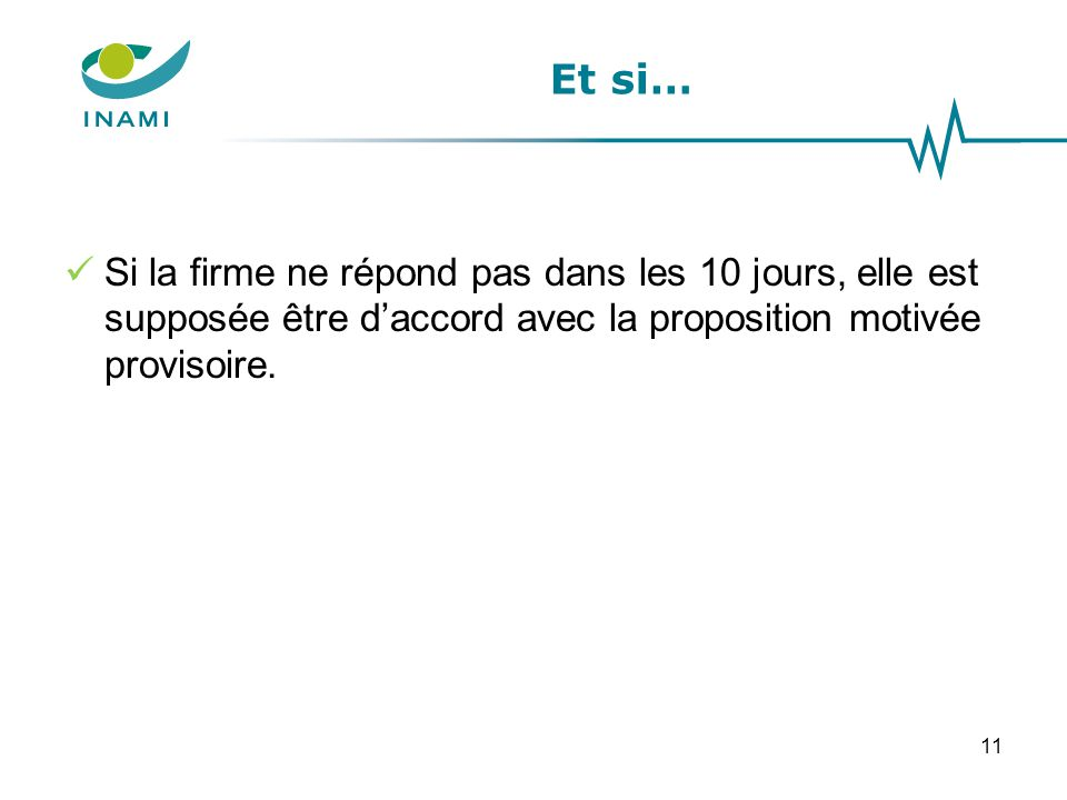 Proposition motivée définitive = proposition de la CRIDMI identique à celle du demandeur ou proposition motivée provisoire acceptée par le demandeur 12