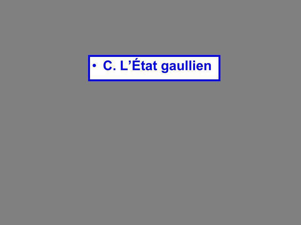 C. L'État gaullien