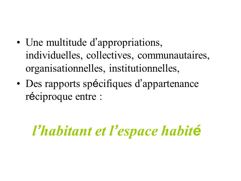 Figure 1 : Le territoire, identit é et patrimoine Source : F.