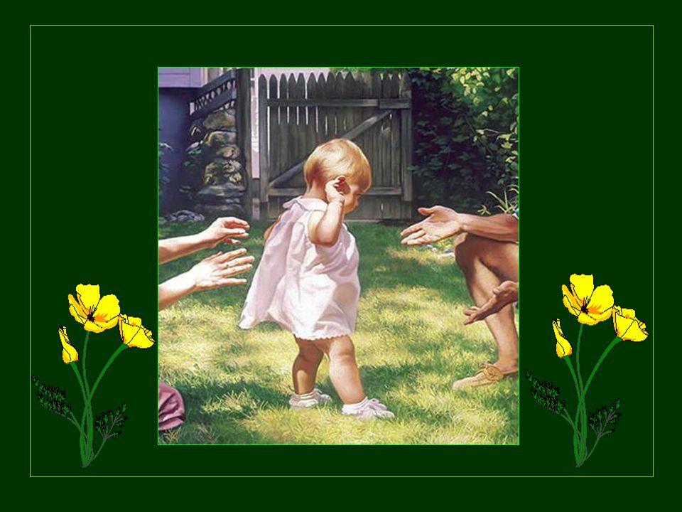 Je voudrais rester devant Toi, Seigneur, comme un enfant qui joue dans le soleil, plein de confiance et de bonheur.