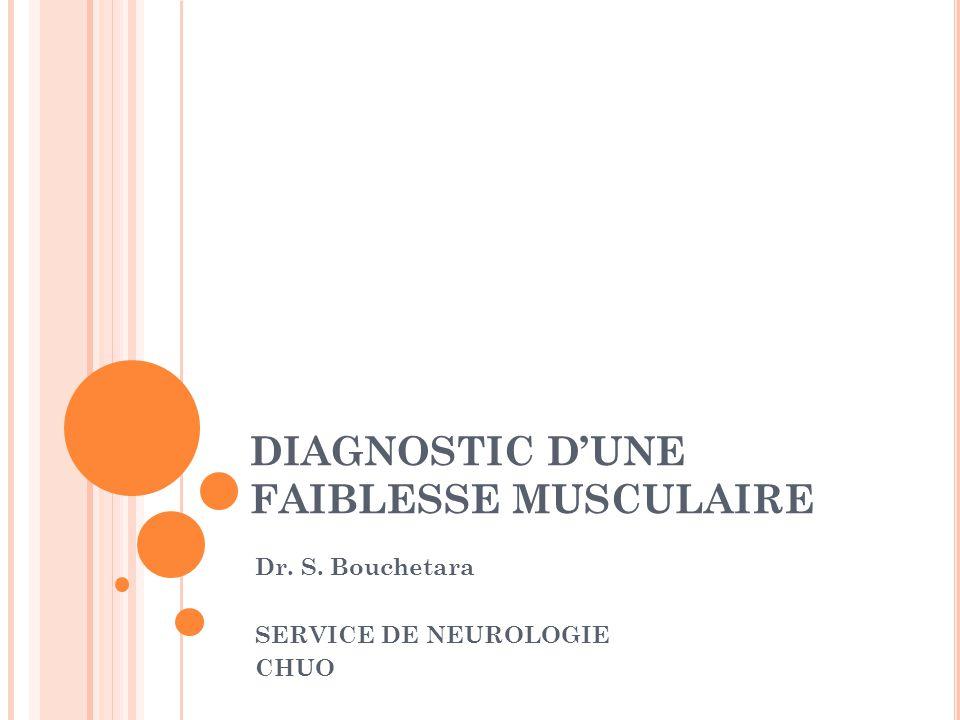 Parésie Paralysie 4 grands syndromes: -syndrome neurogène périphérique -syndrome myogène -syndrome myasthénique -syndrome pyramidal