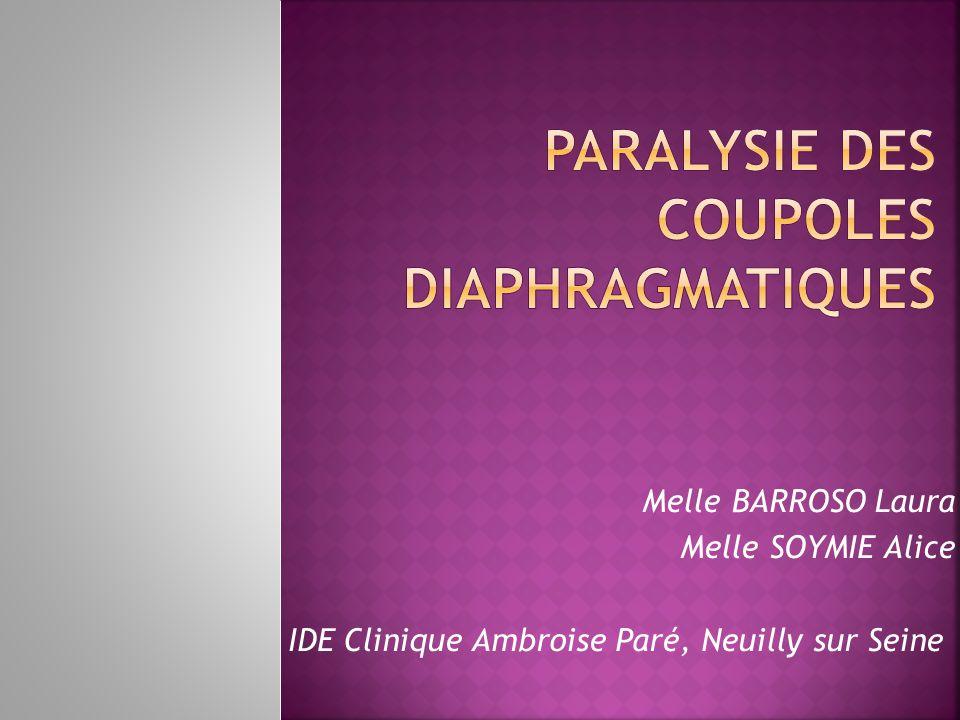 Melle BARROSO Laura Melle SOYMIE Alice IDE Clinique Ambroise Paré, Neuilly sur Seine