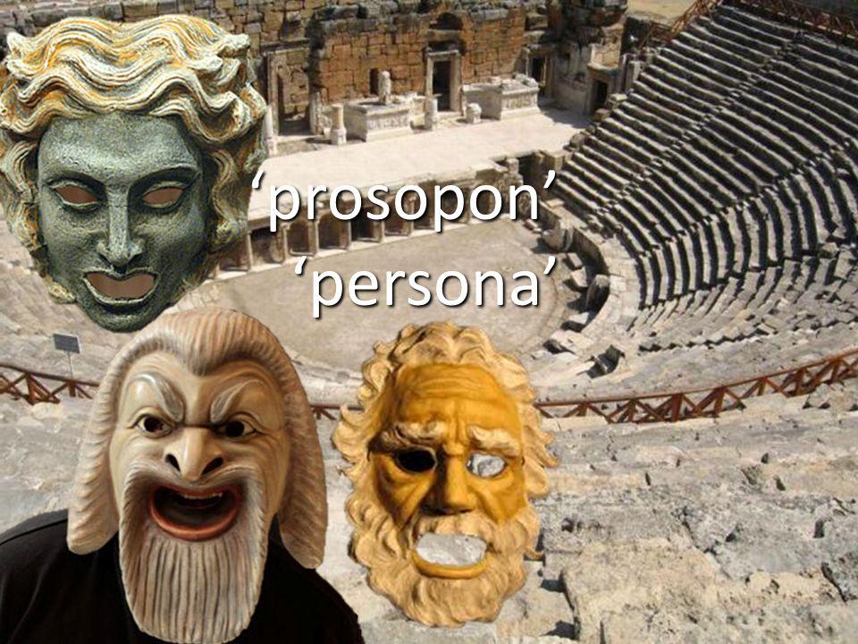 'prosopon''persona'