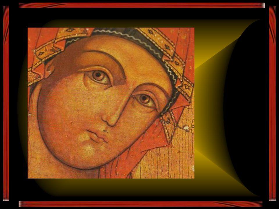 Ô pleine de grâce, en toi se réjouit toute la création. Gloire à toi ! Merveille inouïe surpassant toutes les merveilles de jadis Gloire à toi ! Réjou