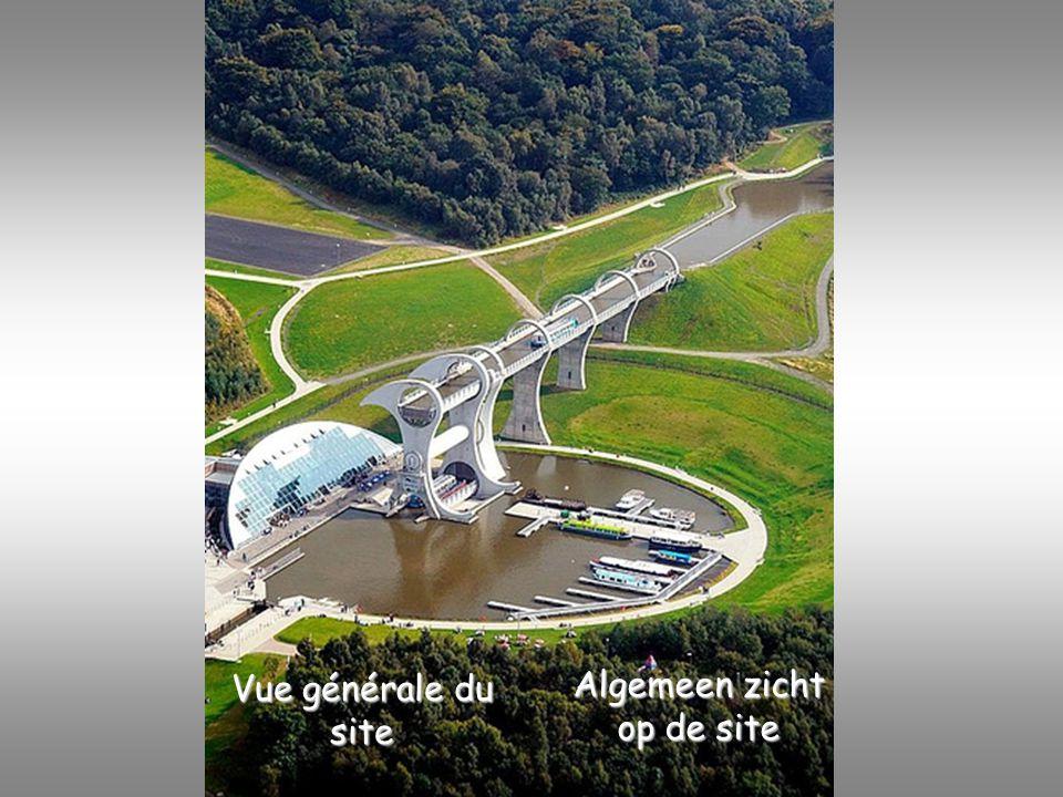 Vue générale du site Algemeen zicht op de site