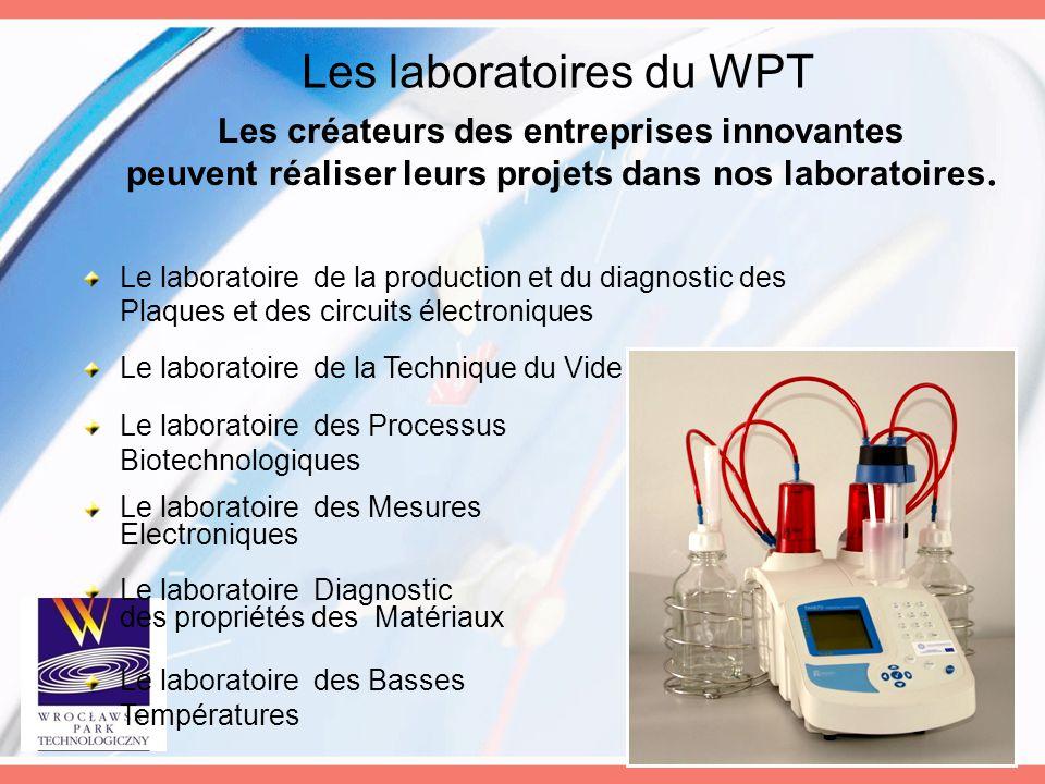 Le laboratoire des Basses Températures Le laboratoire de la Technique du Vide Le laboratoire des Mesures Electroniques Le laboratoire Diagnostic des p