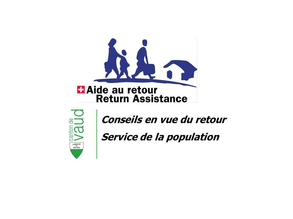 Conseils en vue du retour Service de la population