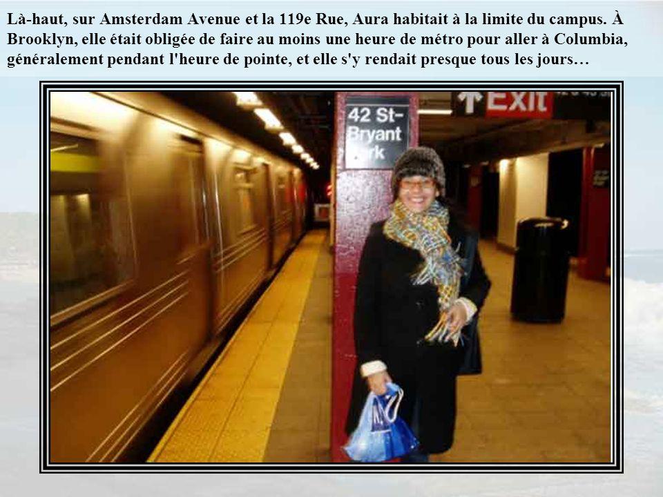 Aura s'installa avec moi à Brooklyn environ six semaines après être arrivée de Mexico avec ses multiples bourses, dont une Fulbright et une autre de l