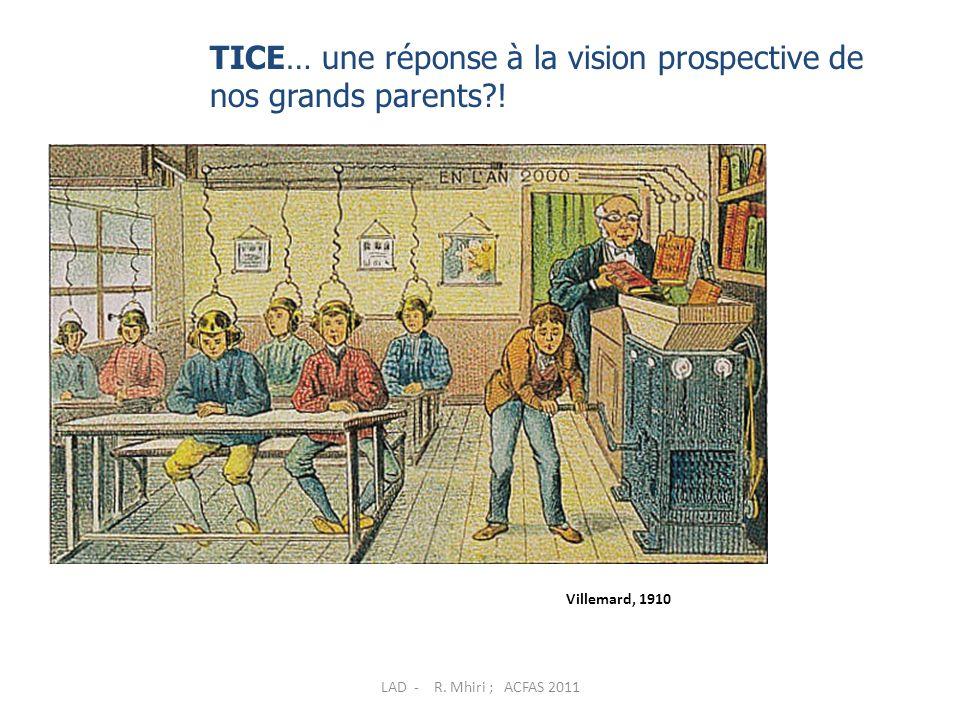 Approche adaptative Application Théorie Pratique LAD - R. Mhiri ; ACFAS 2011