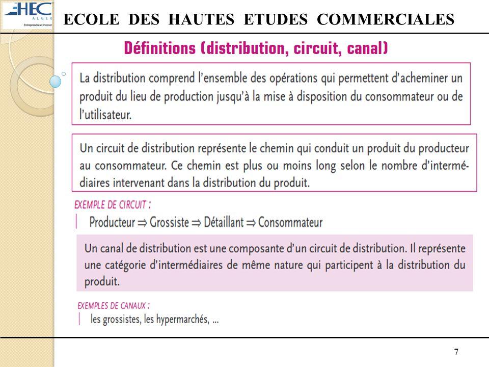 18 ECOLE DES HAUTES ETUDES COMMERCIALES