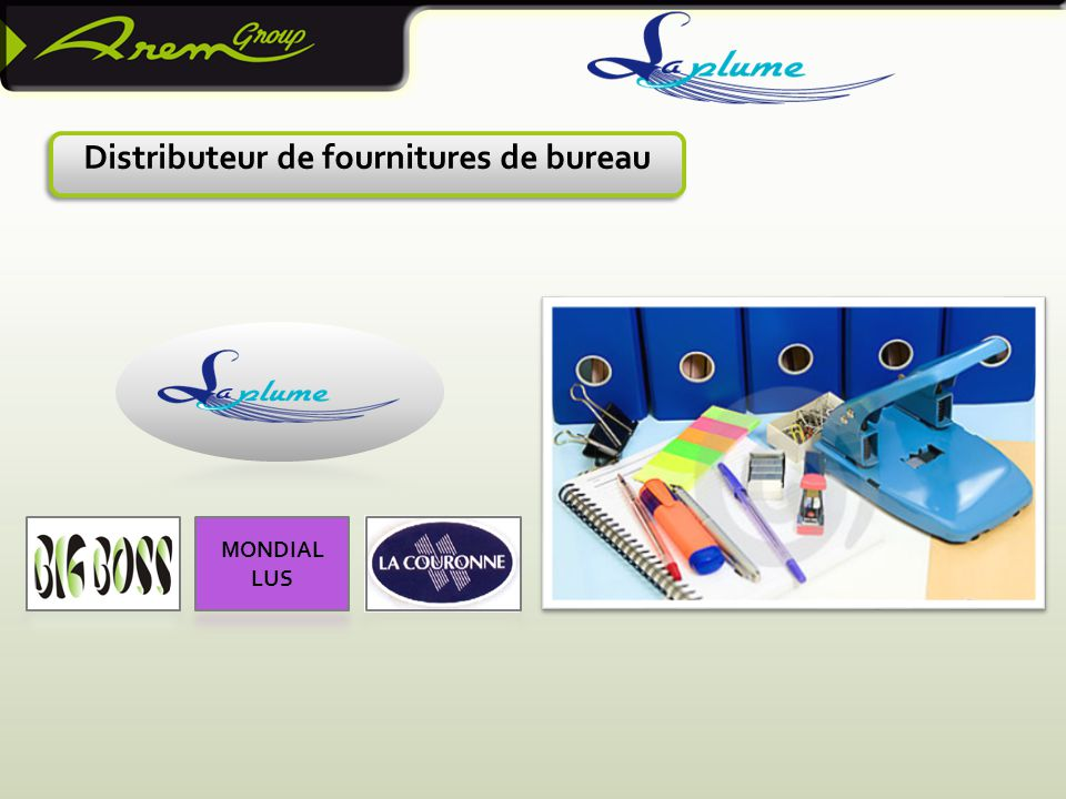Distributeur de fournitures de bureau