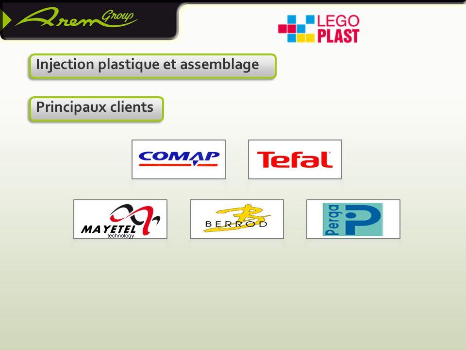 Injection plastique et assemblage Principaux clients