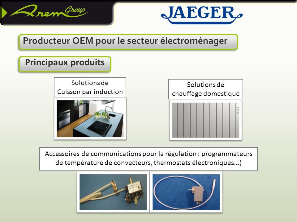 Principaux produits Producteur OEM pour le secteur électroménager
