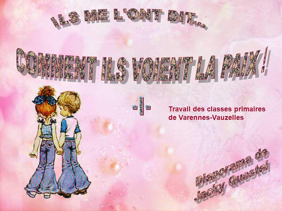 Travail des classes primaires de Varennes-Vauzelles