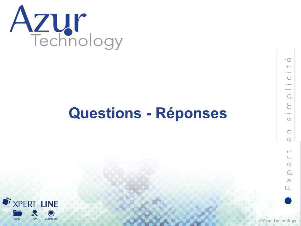 © Azur Technology Questions - Réponses