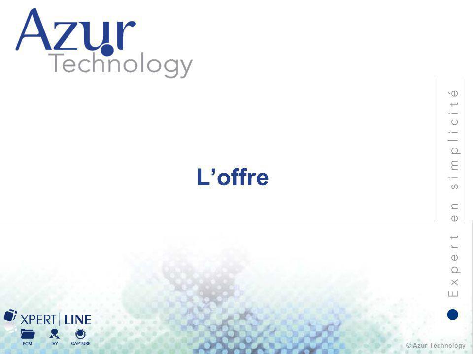 © Azur Technology L'offre