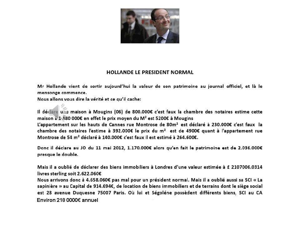 L'affaire Cahuzac…..