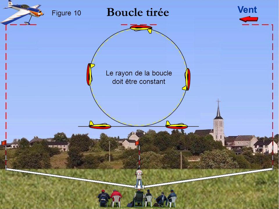Vent Boucle tirée Figure 10 Le rayon de la boucle doit être constant