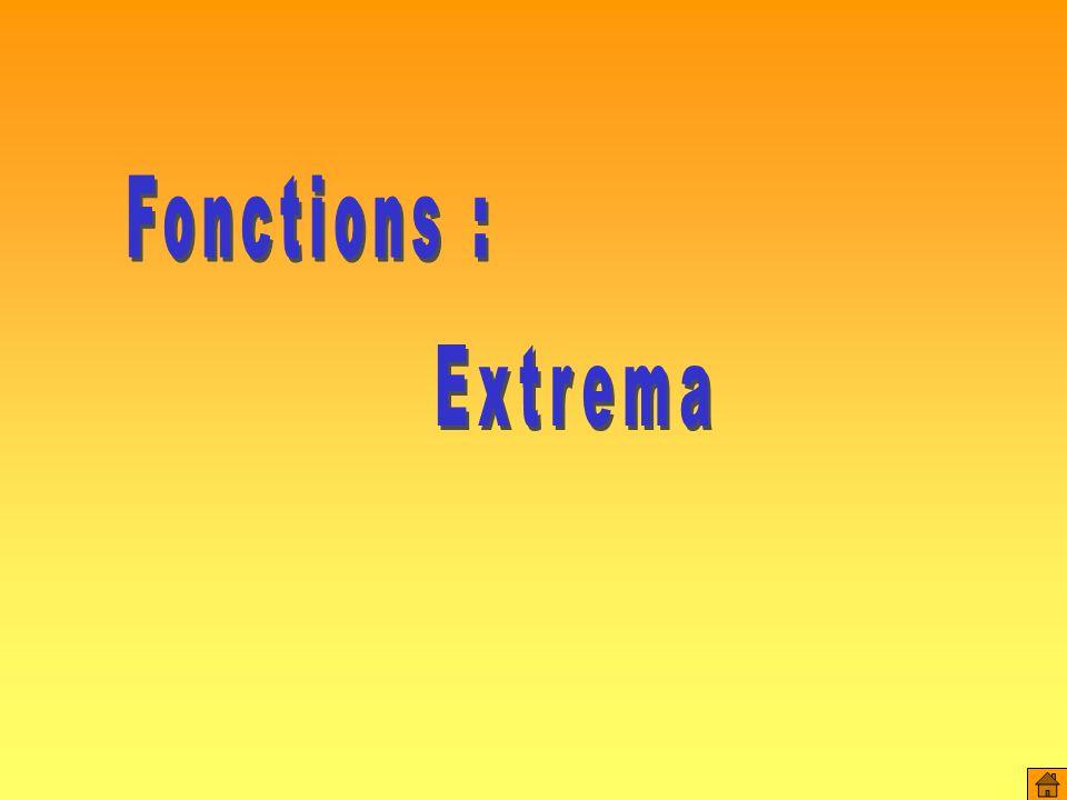 x f(x) ( 0 ;1 ) L'ordonnée à l'origine de la fonction est 1