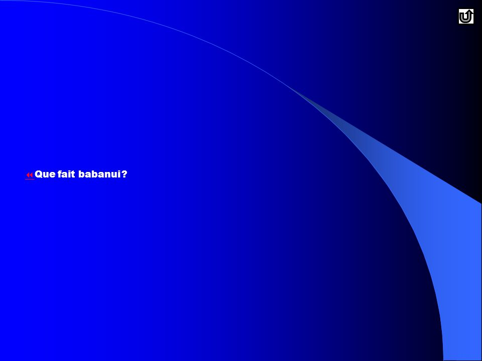   Que fait babanui?