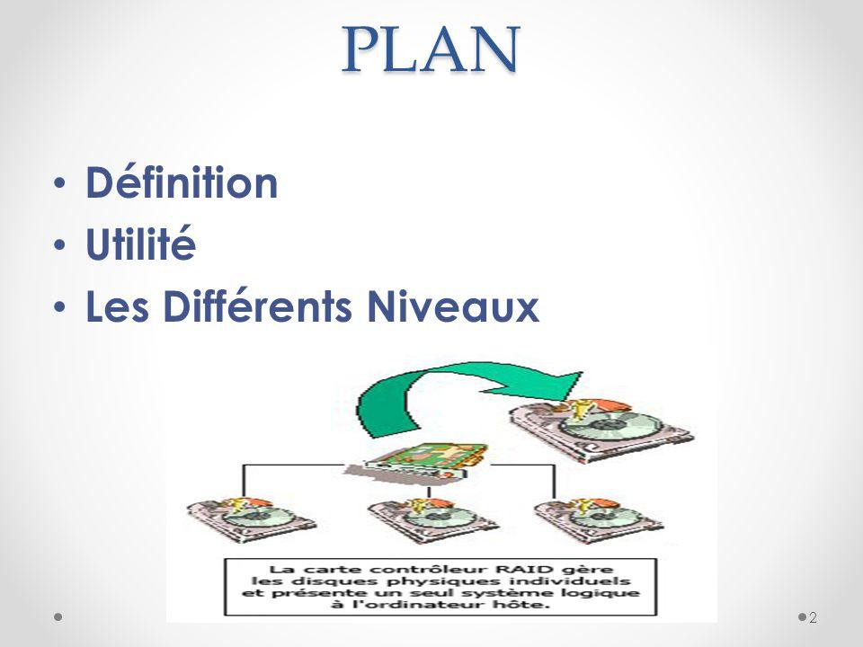 PLAN Définition Utilité Les Différents Niveaux 2