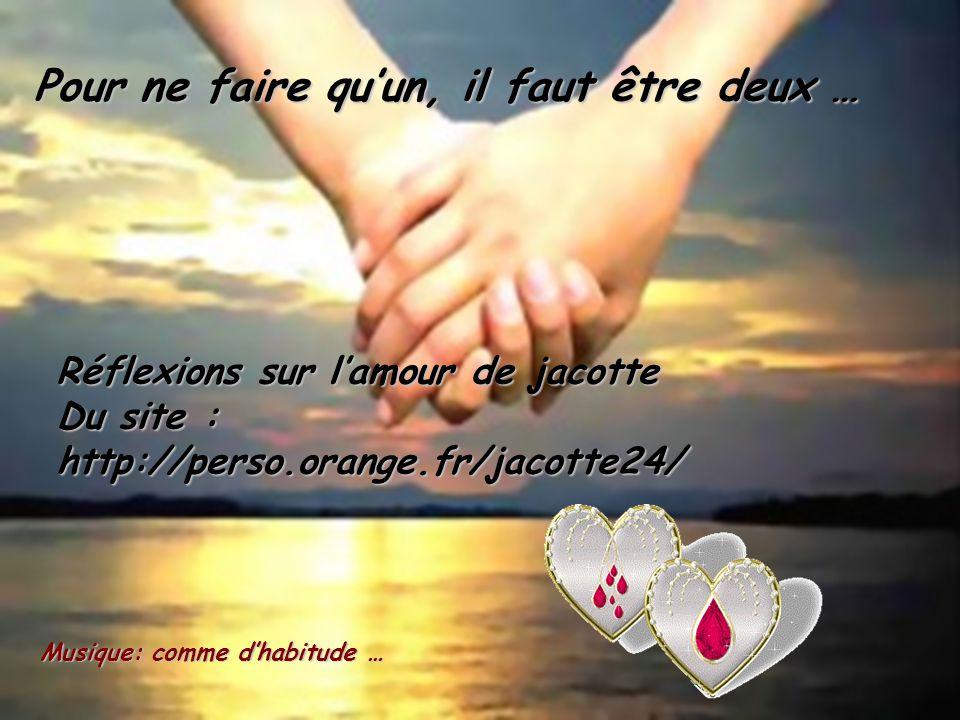 Aimer, c'est bien plus grand quand on se donne quand on se donne Si ça nous fait mal, faut pardonner, Car l'amour, ça fait souvent pleurer..