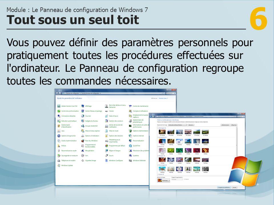 7 >>> Résolution de l écran, thème et arrière-plans peuvent être personnalisés.