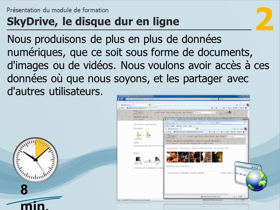 2 Nous produisons de plus en plus de données numériques, que ce soit sous forme de documents, d'images ou de vidéos. Nous voulons avoir accès à ces do