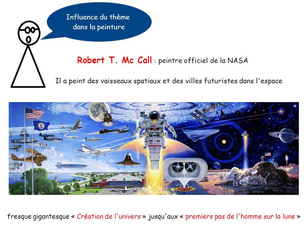 Influence du thème dans la littérature Création d un nouveau style : la science fiction Jules Verne : De le Terre à la Lune Construction et lancement d un projectile creux pour aller sur la lune Le projectile sera aperçu en orbite autour de la lune I SF