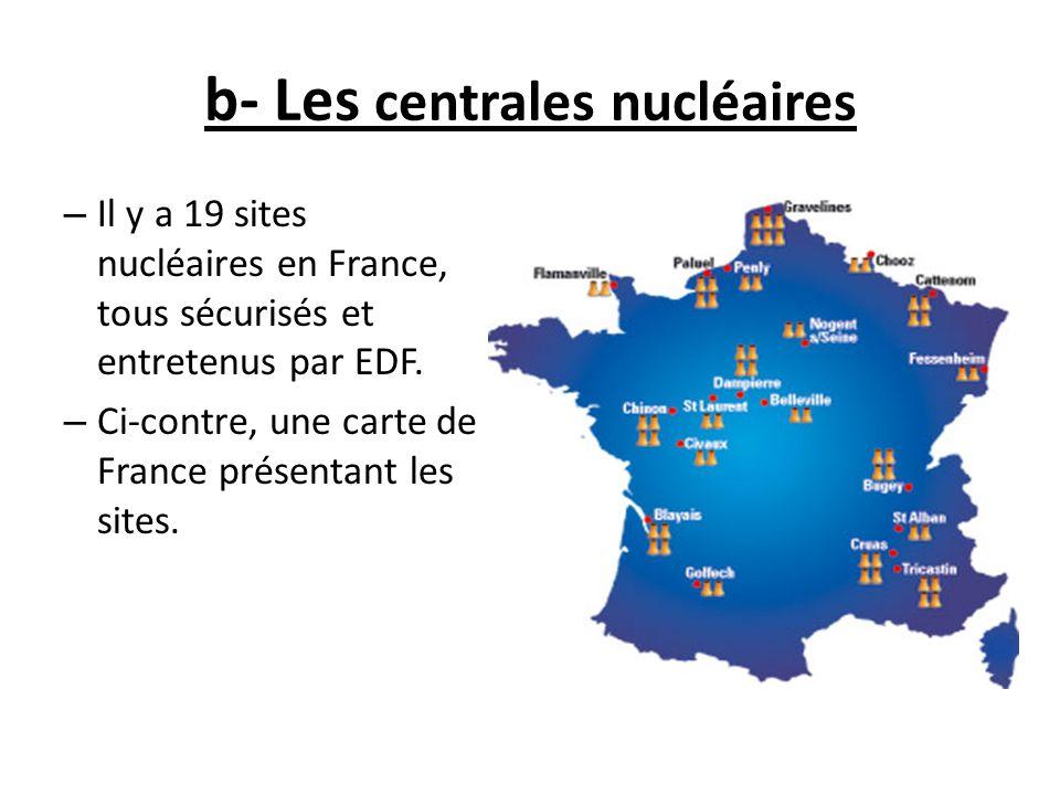Fonctionnement: -Dans le réacteur, la fission nucléaire produit une grande quantité de chaleur.