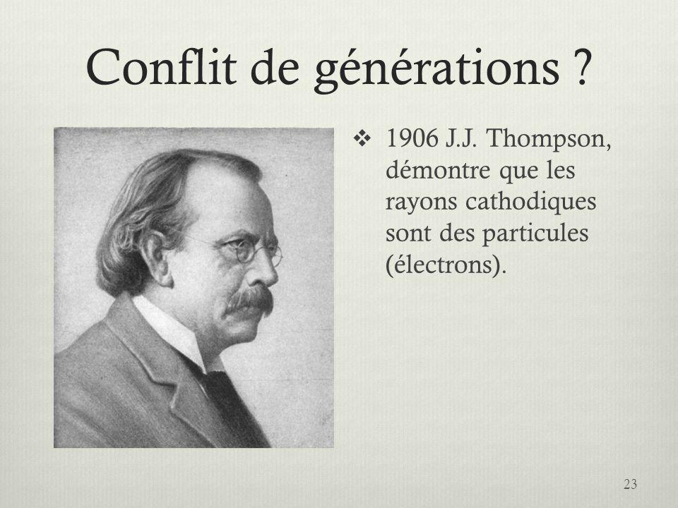 Conflit de générations .23  1906 J.J.