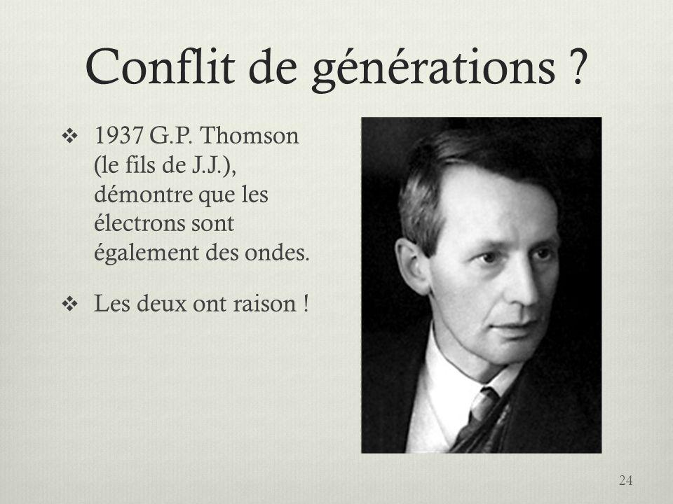 Conflit de générations .24  1937 G.P.