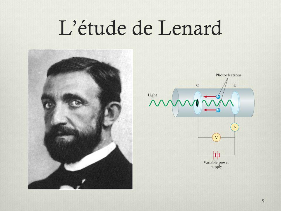 L'étude de Lenard 5