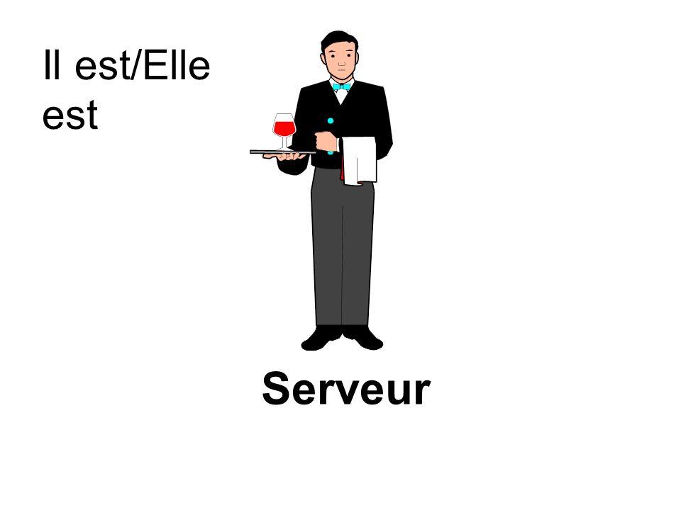 Serveur Il est/Elle est