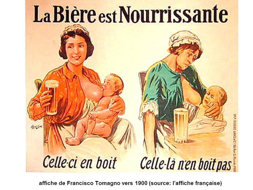 affiche de Francisco Tomagno vers 1900 (source: l'affiche française)
