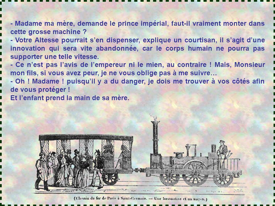 LE TEMPS DES ROIS S'ACHEVE Les premiers trains
