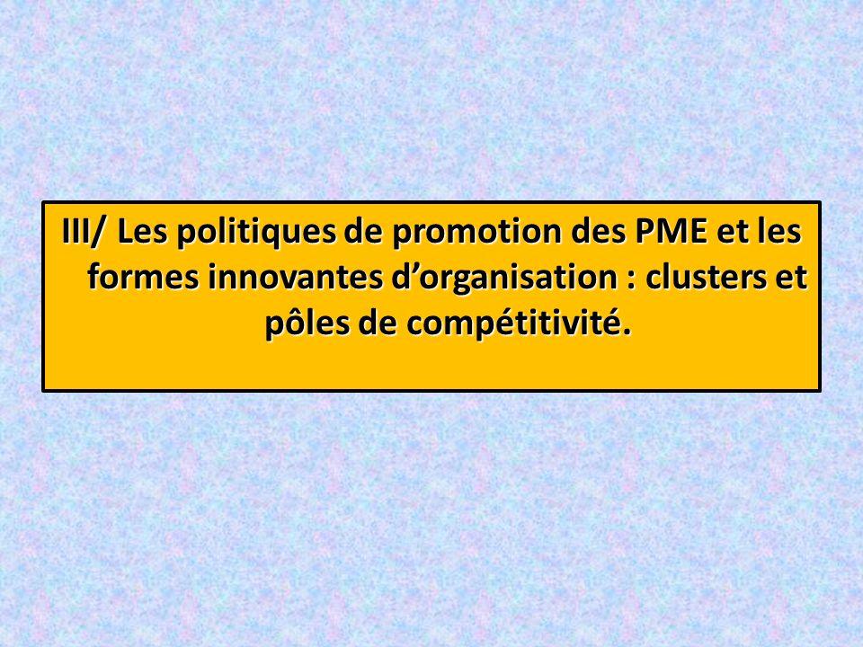1°) Les politiques de promotion des PME: les« Small Business Act » 1°) Les politiques de promotion des PME: les « Small Business Act » « Small Business Act ».