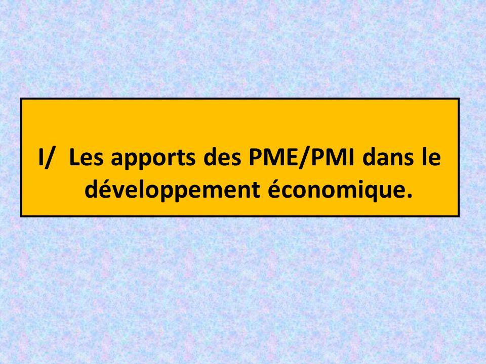 1°) Définition: laPME, Cendrillon de l'économie.1°) Définition: la PME, Cendrillon de l'économie.