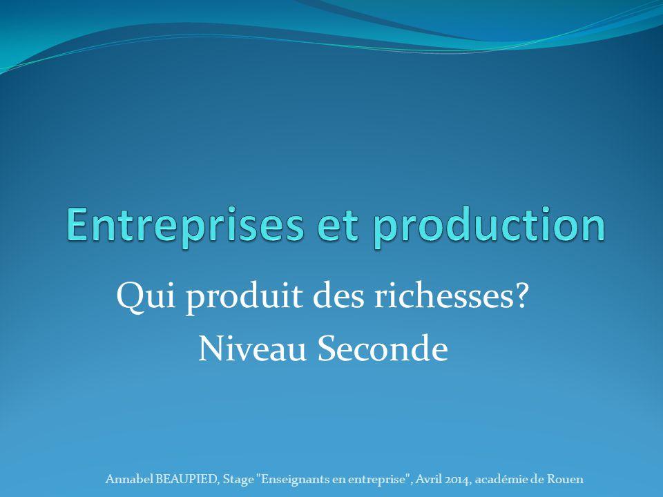 Le procédé de raffinage Annabel BEAUPIED, Stage Enseignants en entreprise , Avril 2014, académie de Rouen