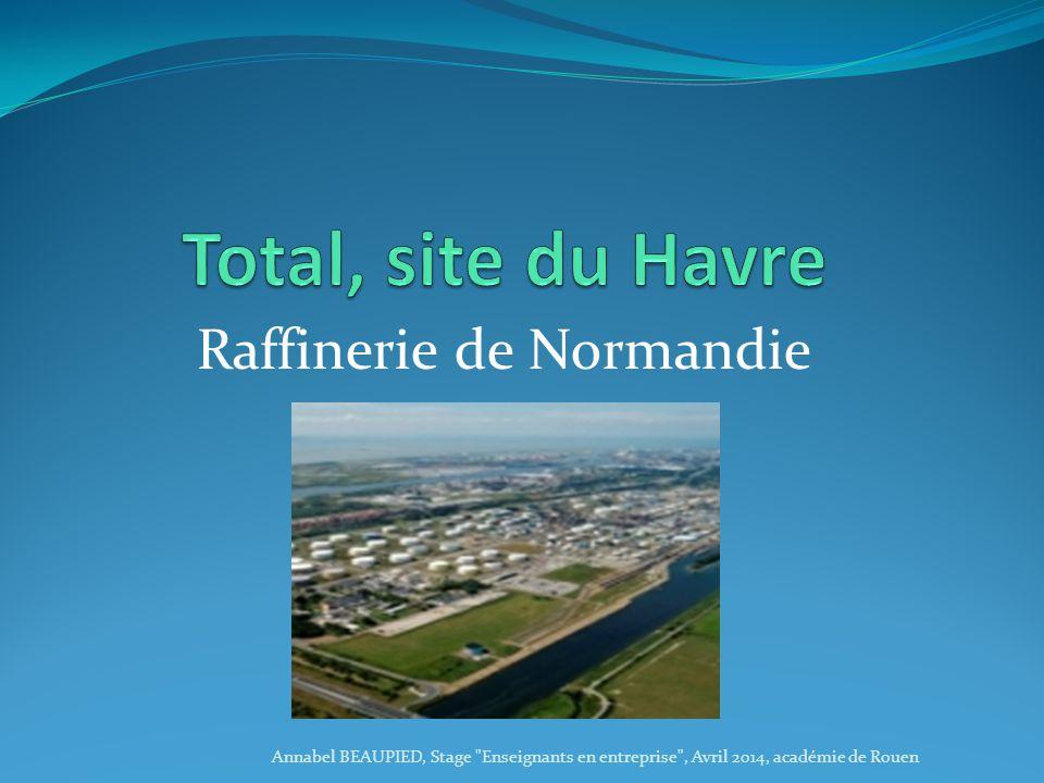 Raffinerie de Normandie Annabel BEAUPIED, Stage