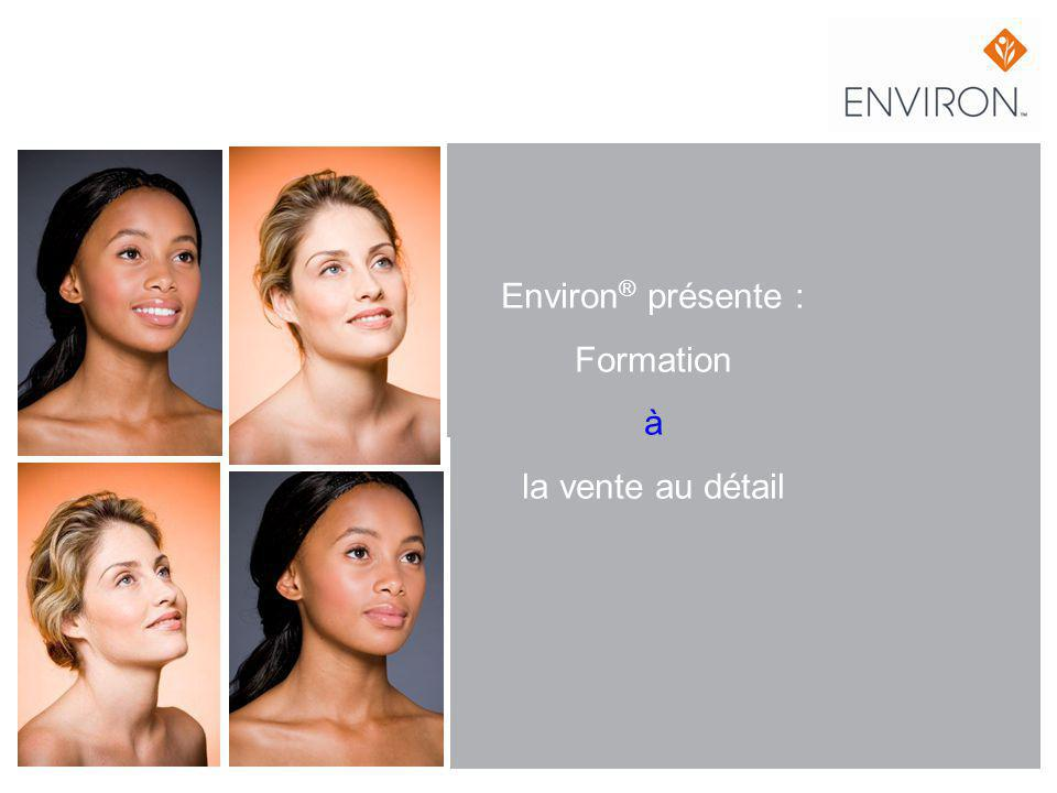 Environ ® présente : Formation à la vente au détail