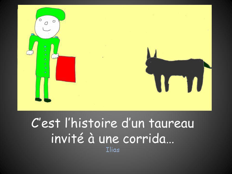 C'est l'histoire d'un taureau invité à une corrida… Ilias