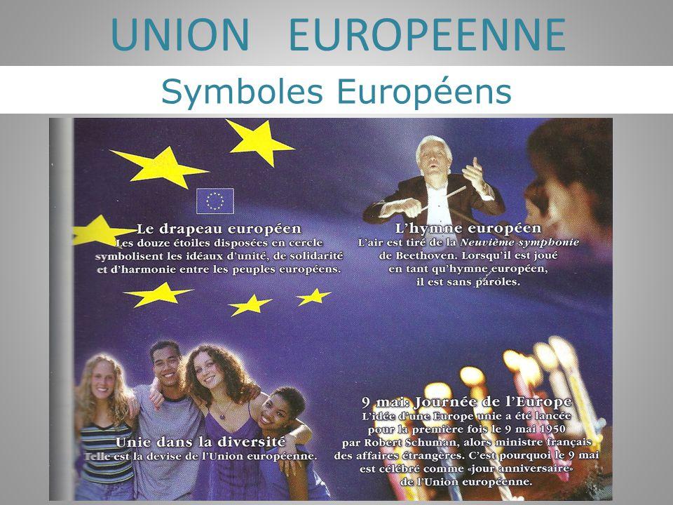 Symboles Européens UNION EUROPEENNE