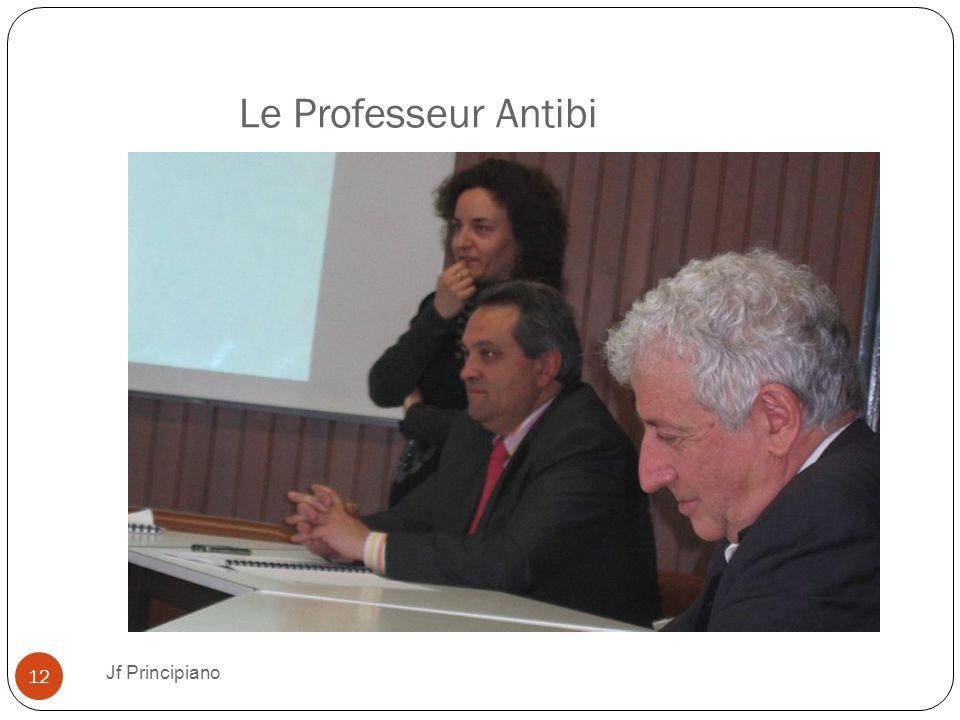 Le Professeur Antibi Jf Principiano 12